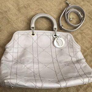 Dior Granville leather bag.